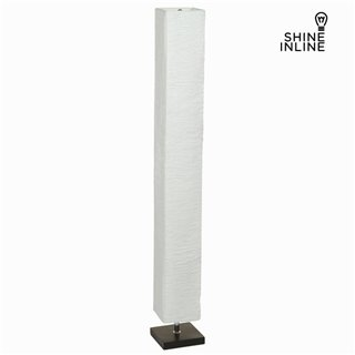 Lampe de sol tissu blanc by Shine Inline