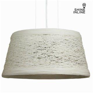 Suspension blanche by Shine Inline