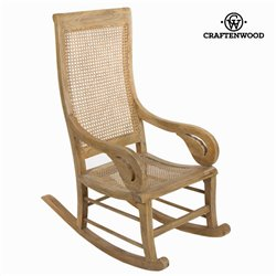 Chaise à bascule vintage by Craftenwood