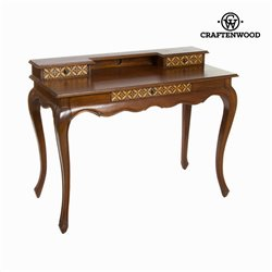 Bureau 3 tiroirs en bois - Collection Serious Line by Craftenwood