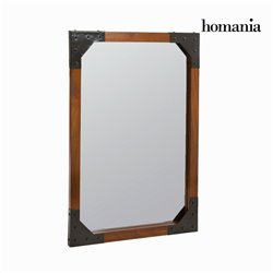 Miroir mural en bois et métal - Collection Franklin by Homania