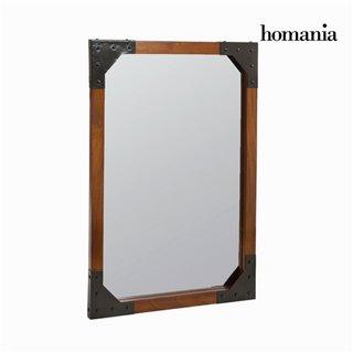 Miroir mural en bois et métal - Collection Franklin by Homania