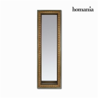 Miroir rectangulqire or mat vieilli by Homania