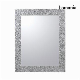 Miroir cadre plis argent by Homania