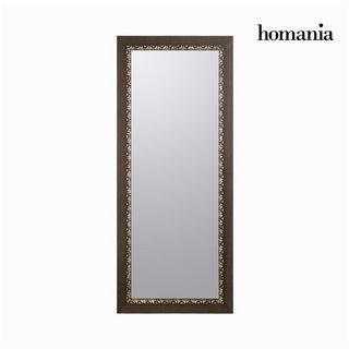 Miroir cadre bois mosaïque by Homania