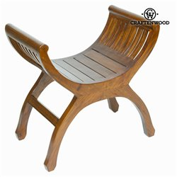 Banc yuyu couleur noyer - Collection Let's Deco by Craftenwood