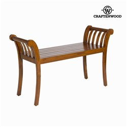 Banc couleur noyer - Collection Let's Deco by Craftenwood
