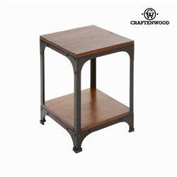 Table d'appoint en bois et métal - Collection Franklin by Craftenwood