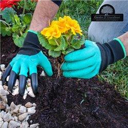 Gants de Jardinage avec 4 Griffes pour Creuser Garden & Greenhouse