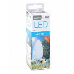 Ampoule LED Bougie Omega E14 5W 400 lm 6000 K Lumière blanche