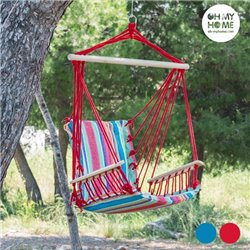 Chaise Suspendue Relax Lines Oh My Home-Couleur-Rouge
