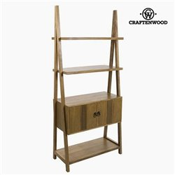 Étagère Teck Mdf (80 x 38 x 181 cm) - Collection Be Yourself by Craftenwood
