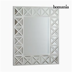Miroir Carré Argent - Radiance Collection by Homania