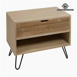 Table de Nuit Bois (70 x 40 x 60 cm) - Collection Be Yourself by Craftenwood
