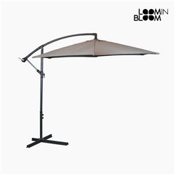 Parasol Ø 300 cm Gris by Loom In Bloom