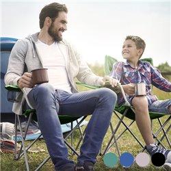 Chaise Pliante de Camping-Couleur-Marron clair