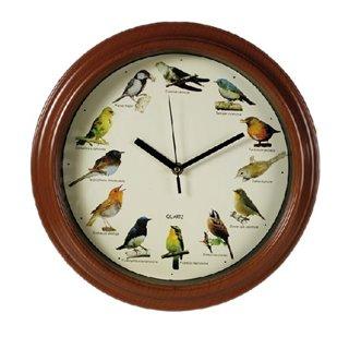 Horloge Murale Mélodie Oiseau