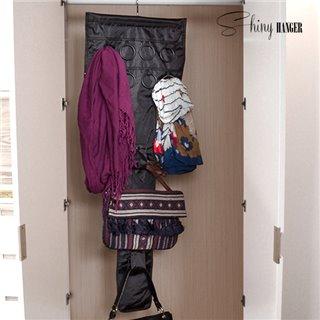 Organisateur de Sacs et Accessoires Shiny Hanger Glam