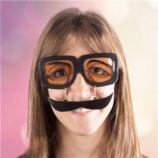 Lunettes Farces et attrapes avec moustache