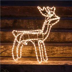 Renne de Noël (216 LED)