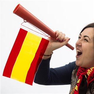 Trompette Drapeau de l'Espagne