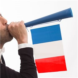Trompette Drapeau de la France