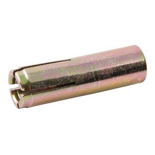 Lot de 10 chevilles à frapper - 6 mm