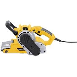 POWERPLUS Ponceuse à bande 950W POWX0460 + Coffre + Accessoires