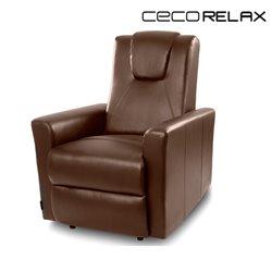 Fauteuil Relax Masseur Marron Cecorelax 6150