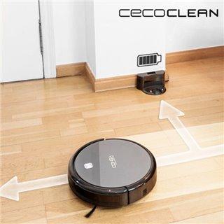 Robot Aspirateur avec Serpillère et Réservoir d'Eau Cecoclean Excellence 5042