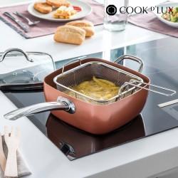 Poêle en Céramique avec Accessoires Multi·Cook D'Lux