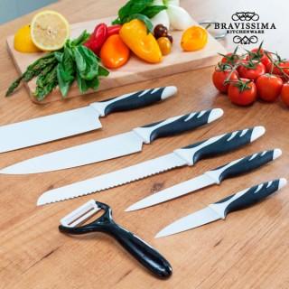 Couteaux Top Chef  Blanc C01023 (6 pièces)