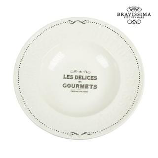 Assiette creuse - Collection Kitchen's Deco by Bravissima Kitchen