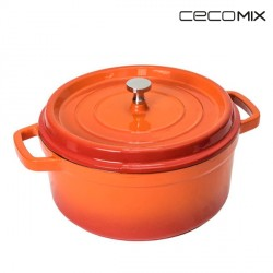 Cocotte Fuego Cecomix -Mesure-24 cm