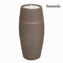 Vase Marron - Collection Ellegance by Homania
