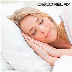 Oreiller Viscoélastique en Latex Cecorelax-Mesure-105 cm