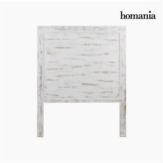 Tête de lit Bois mindi (115 x 3 x 145 cm) - Collection Pure White by Homania