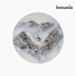 Cadre Huile (60 x 4 x 60 cm) by Homania