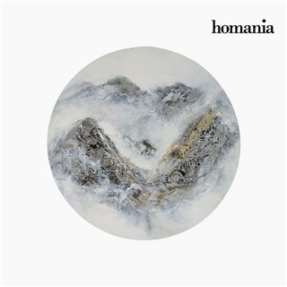 Cadre Huile (60 x 4 x 60 cm) by Homania