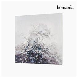 Cadre Huile (80 x 4 x 80 cm) by Homania