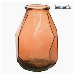 Vase en Verre Recyclé (25 x 25 x 35 cm) - Collection Pure Crystal Deco by Homania