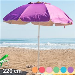 Parasol Summer's Colour (220 cm)-Couleur-Vert