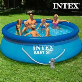 Piscine Circulaire avec Épurateur Intex