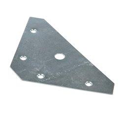 Lot de 10 plaques d'angle - 83 x 0,9 mm
