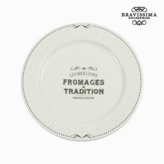 Plateau de Fromages Porcelaine - Collection Kitchen's Deco by Bravissima Kitchen