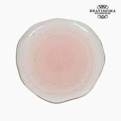Assiette plate Porcelaine - Collection Kitchen's Deco by Bravissima Kitchen