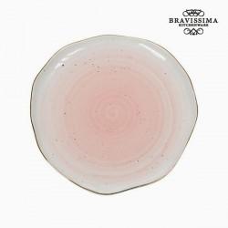 Assiette plate Porcelaine - Collection Kitchen's Deco by Bravissima Kitchen