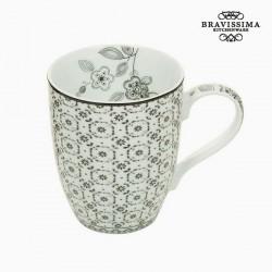 Tasse Porcelaine Figure géométrique - Collection Kitchen's Deco by Bravissima Kitchen