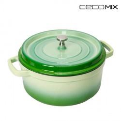 Cocotte Bambou Cecomix-Mesure-20 cm