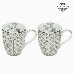 Ensemble de 2 mugs - Collection Queen Kitchen by Bravissima Kitchen